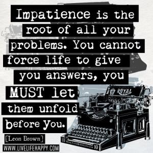 nepotrpezljivost