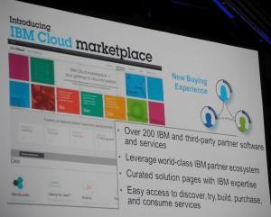 IBM Cloud marketspace