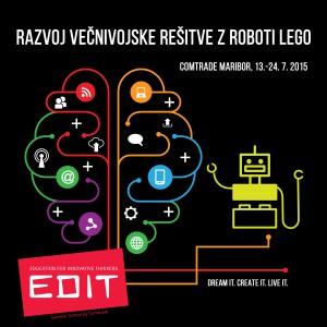 EdIT15_Banner_Lego_robots_Večnivojska_rešitev_Lego_roboti_MB