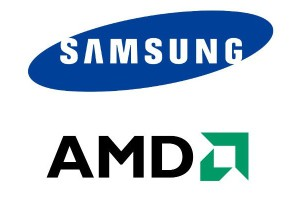 Samsung_and_AMD_corporate_logos