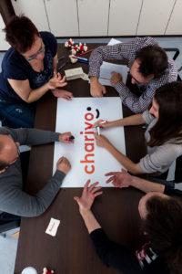 11. 04. 2016, Ljubljana. Portreti, skupinske fotografije in fotografije blagovne znamke. Chariyo je podjetje, ki z ogledi oglasov zbira sredstva za dobrodelne organizacije.