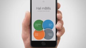 Hal mBills prva stran