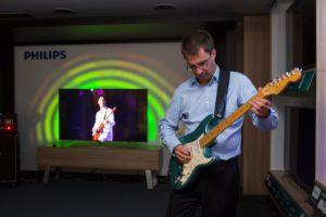 Jernej Lipus, tehnicni ekspert pri TP Vision - Philips predstavlja AmbiLux