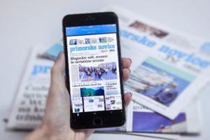 Primorske novice mobilna 1