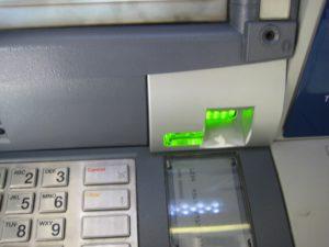 bankomat skimer